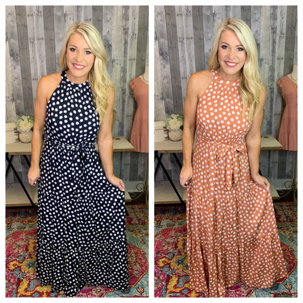 {MUST HAVE MAXI DRESS}