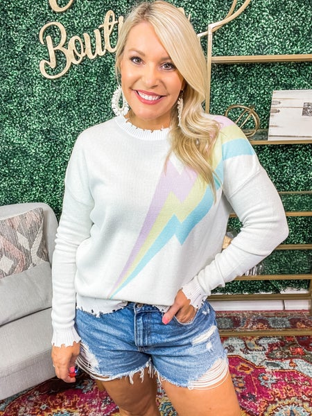Two Steps Forward Sweater