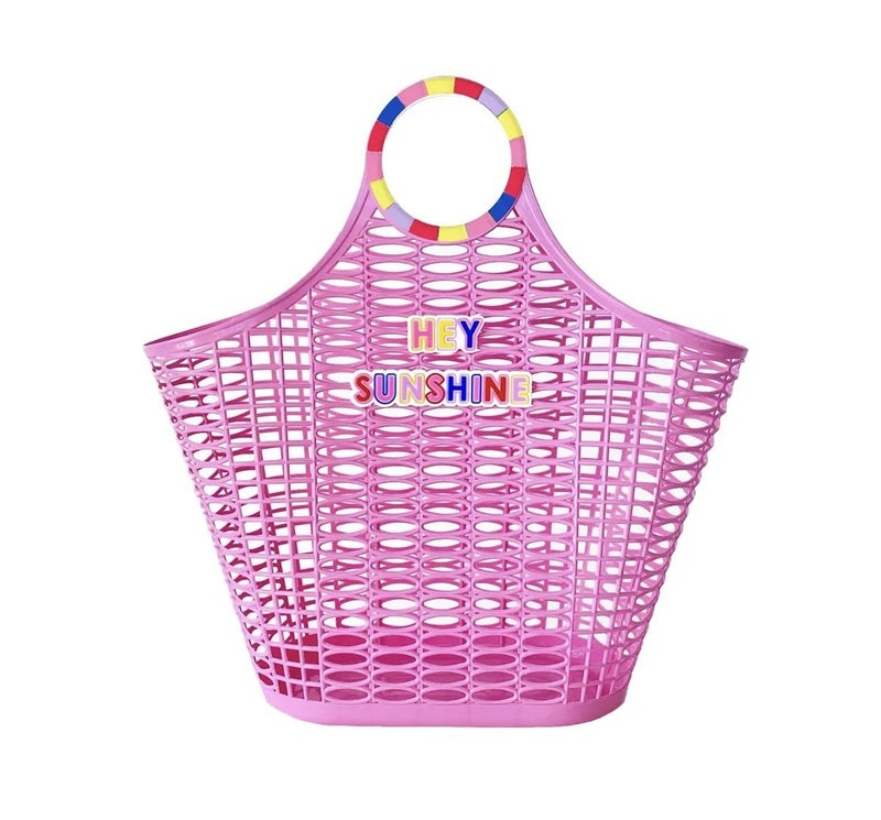 Hey Sunshine Jelly Tote