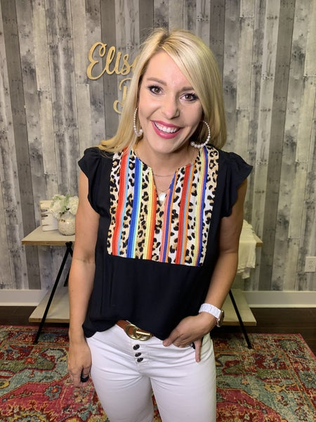 {THE SAVANNA TOP} *Final Sale*