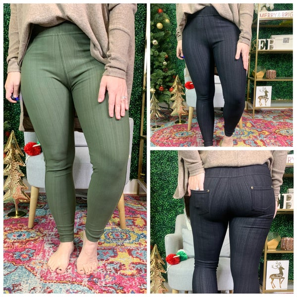 TODAY IS THE DAY JEGGINGS *Final Sale*