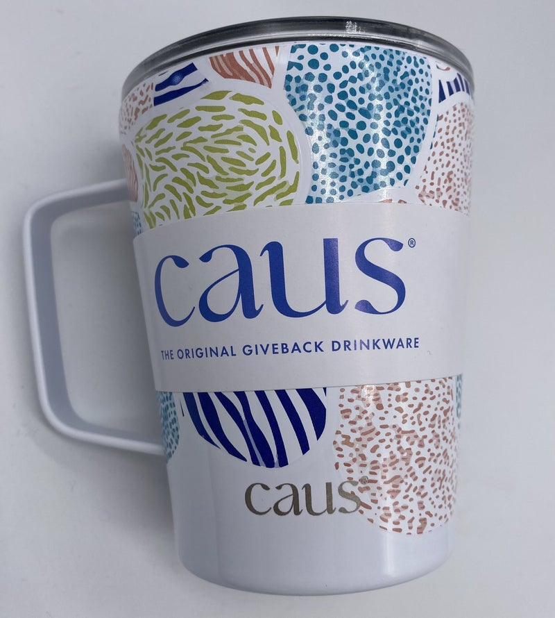 Up, Up and Away Caus Coffee Tumbler