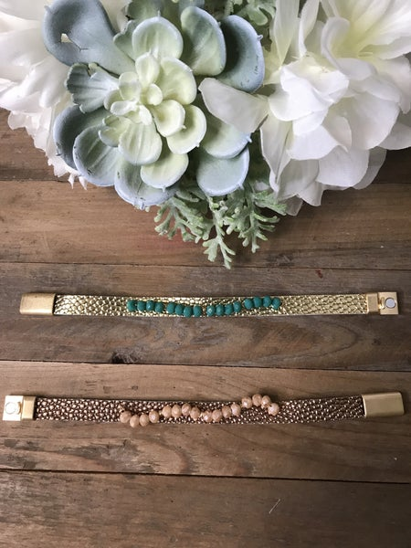 {SWEET AND EASY MAGNETIC BRACELET}