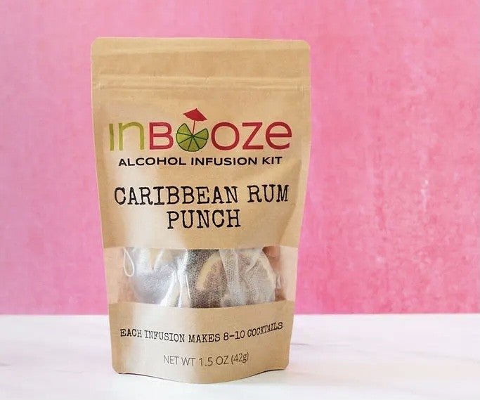 Caribbean Rum Punch Alcohol Infusion