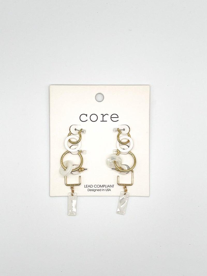 Triple The Fun Earrings *Final Sale*