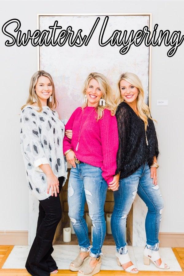 Sweaters/Layering