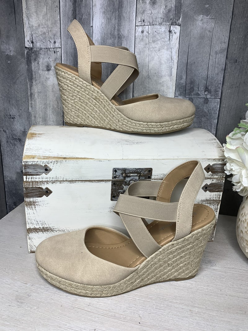 {TAHOE HEELED ESPADRILLE} *Final Sale*