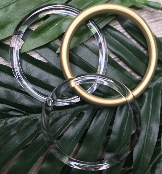 {SEEING CLEARLY BANGLES}