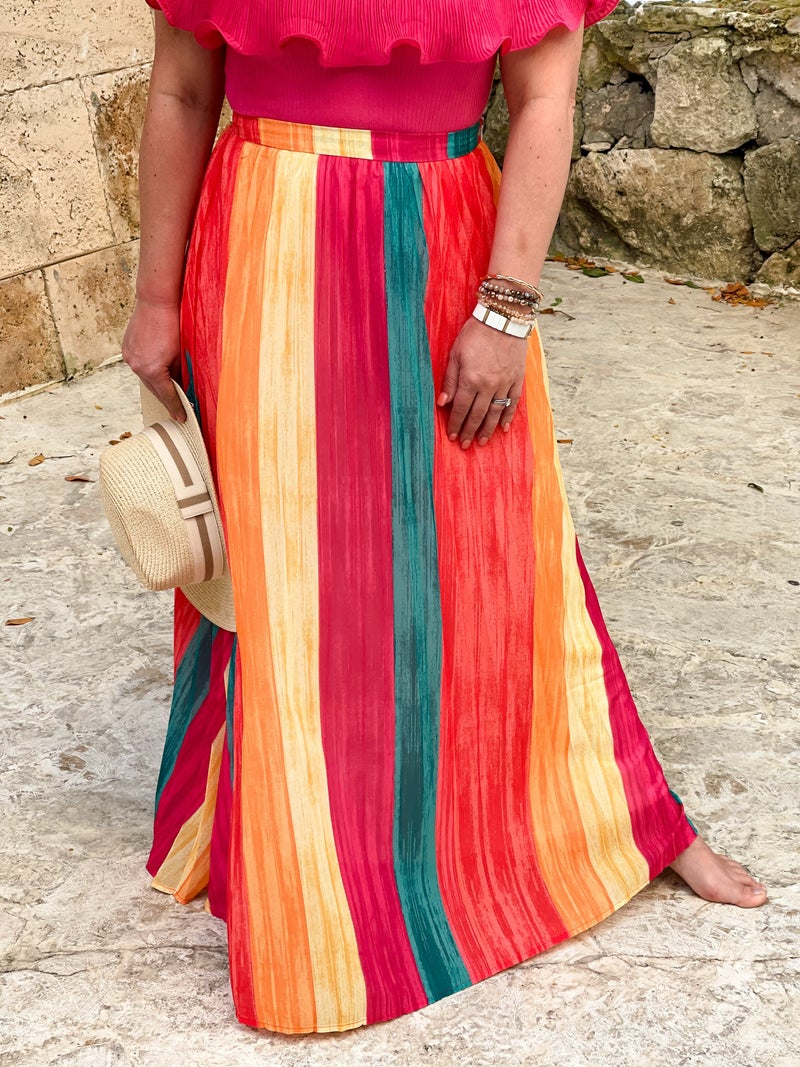 It's A Party Maxi Skirt