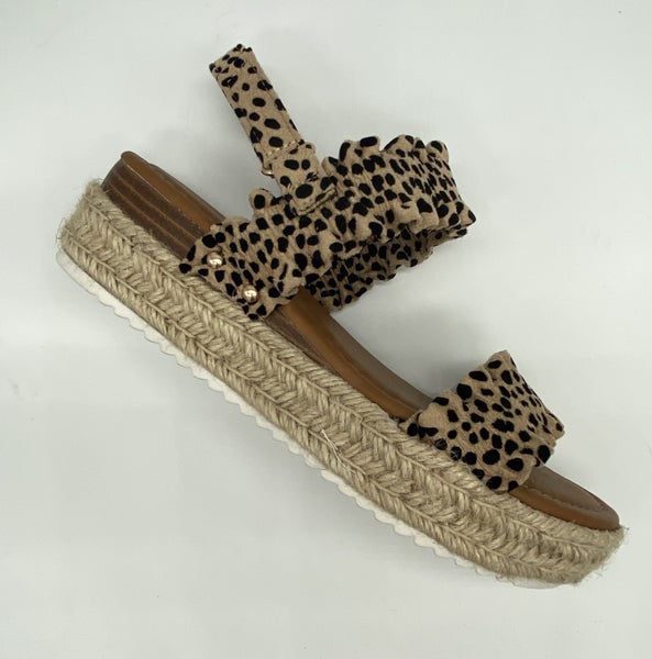 Magic- Cheetach Wedges
