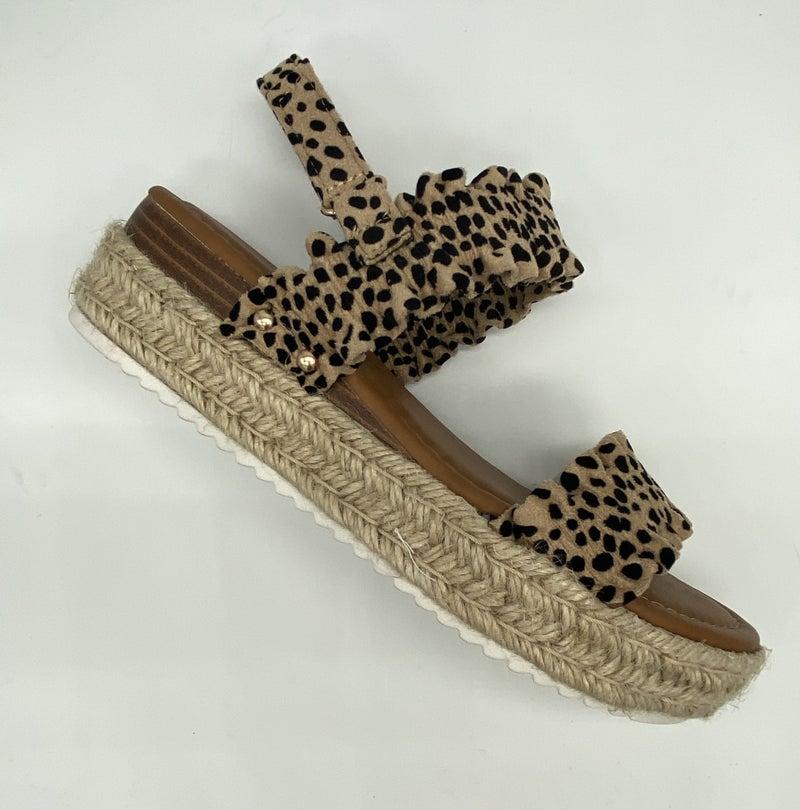 Magic- Cheetach Wedges