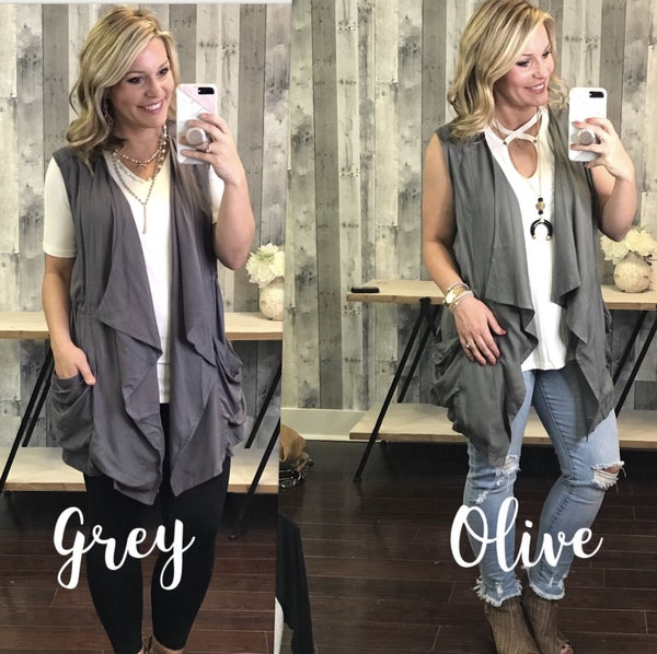 {BRIDGE THE GAP VEST}
