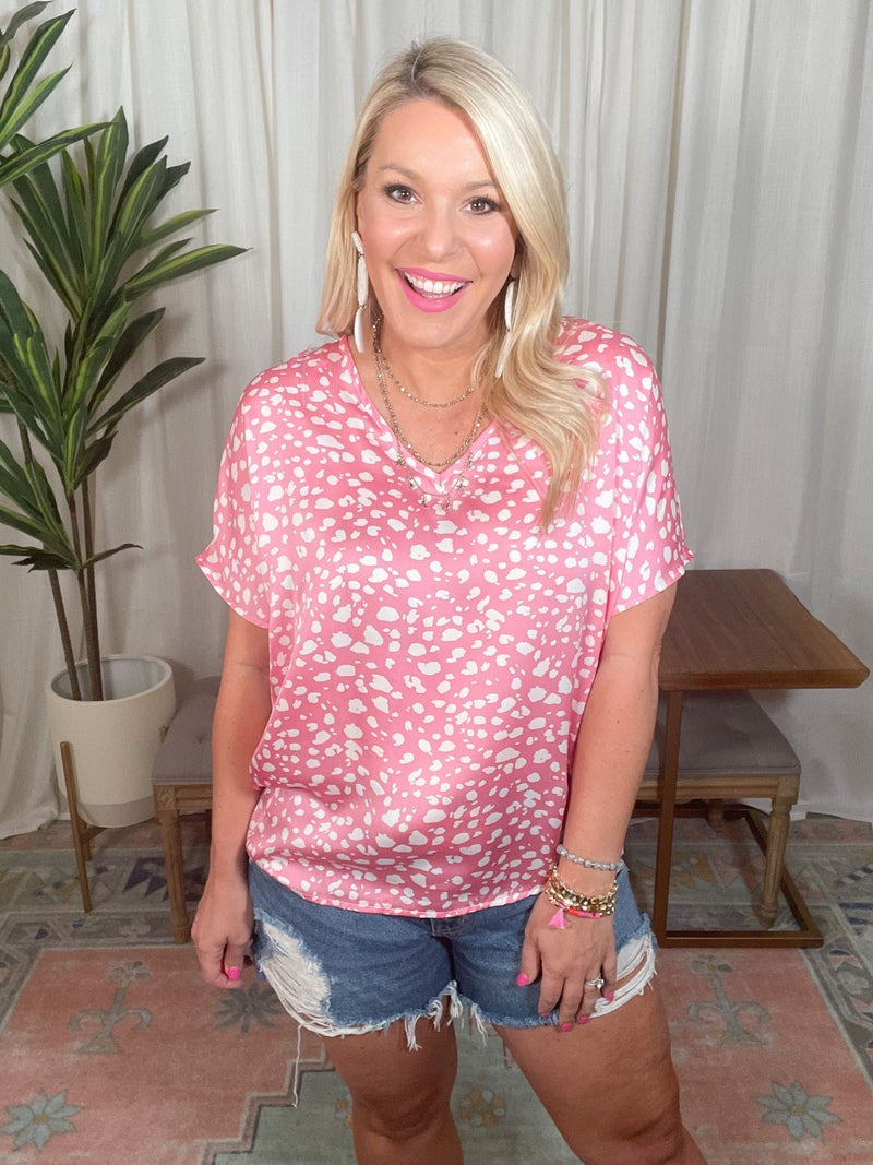 Perfect In Pink Top