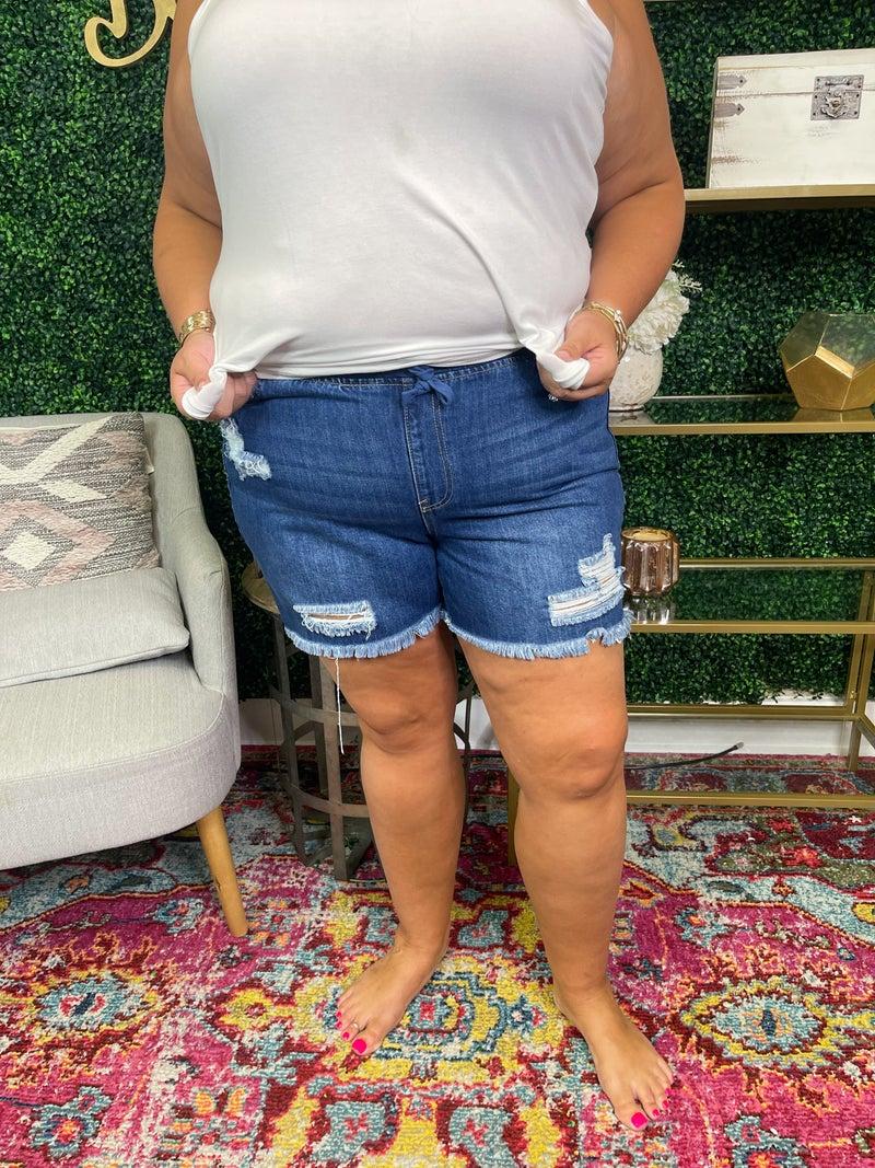 Plus YMI Dream Jean Shorts