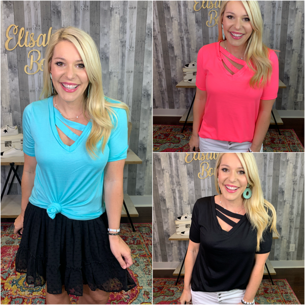 {DEAL OF THE DAY- DOUBLE THE FUN TOP} *Final Sale*