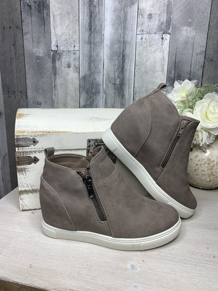 {TOTALLY YOU WEDGE SNEAKERS}