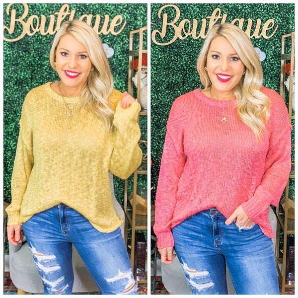 Twinkle Pearl Sweater Top