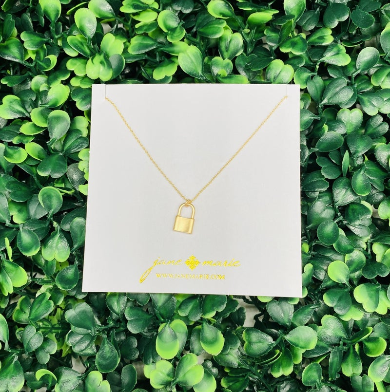 Gold Lock Chain