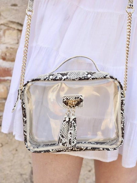 Caroline Hill- Tinzley Tassel Bag