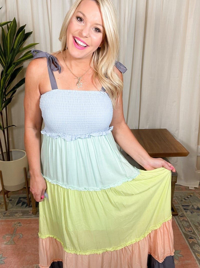 Plus and Reg- Perfect For Me Maxi Dress