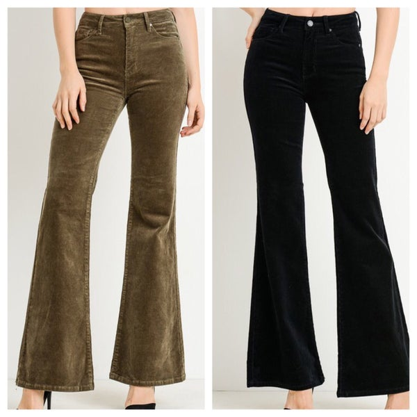 {SUNDAY STEALS - CORD FLARE PANTS}