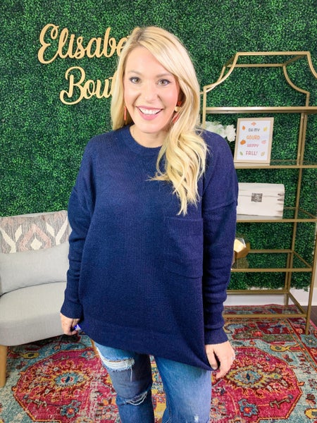 DEAL OF THE DAY- EVERYDAY ALL DAY SWEATER TOP