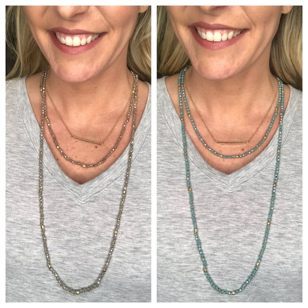 {SLIGHT PERFECTION NECKLACE}