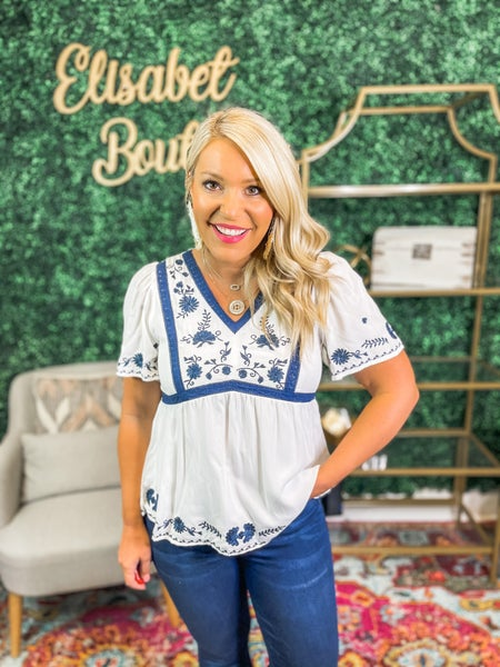 Embroidered Beauty Blouse