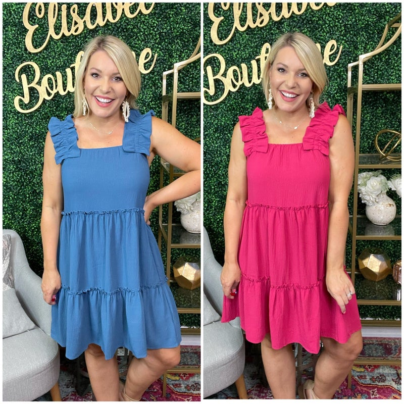 Plus and Reg- All Day Everyday Dress *Final Sale*