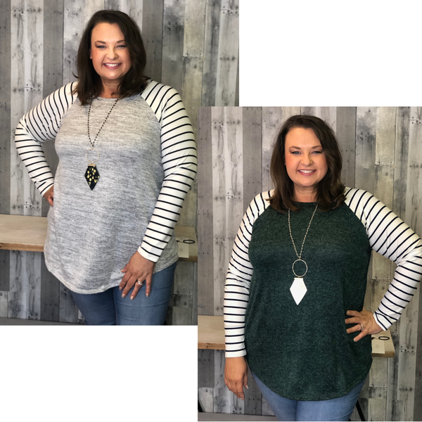 {PLUS SIZE-JUST FOR ME TOP}