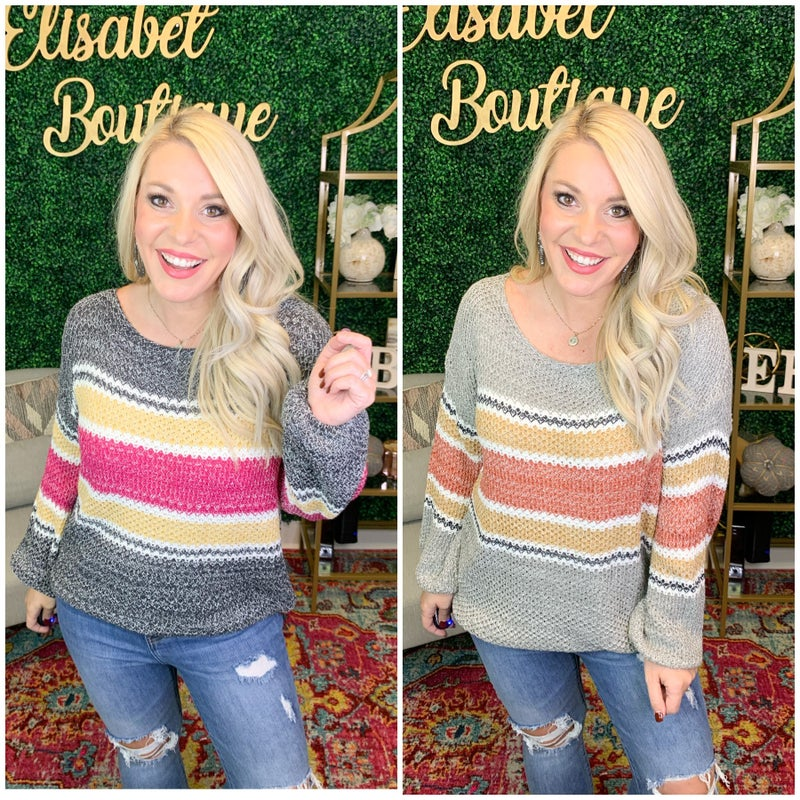 LOVING LIFE SWEATER *Final Sale*