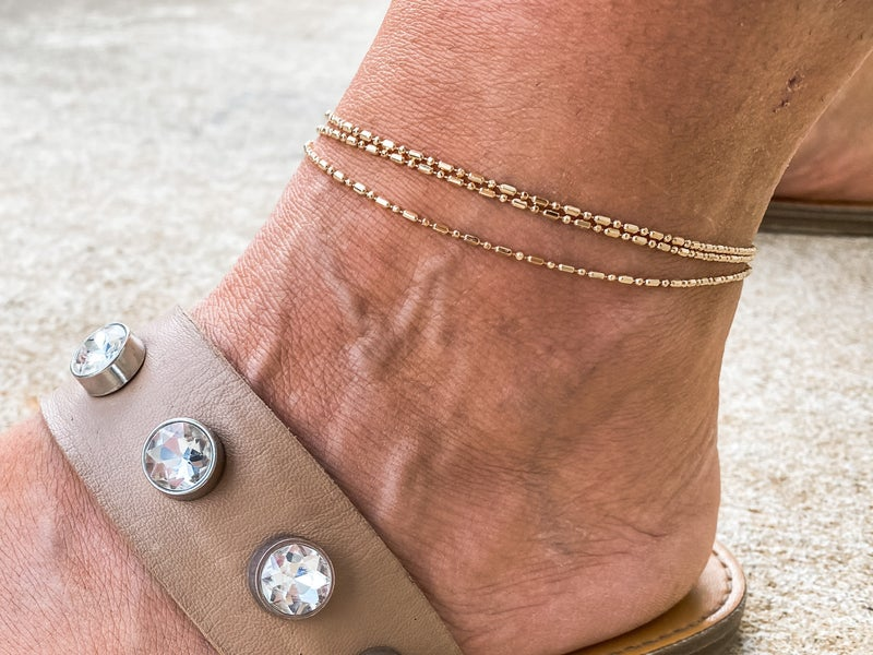 Playing With My Heart Anklet