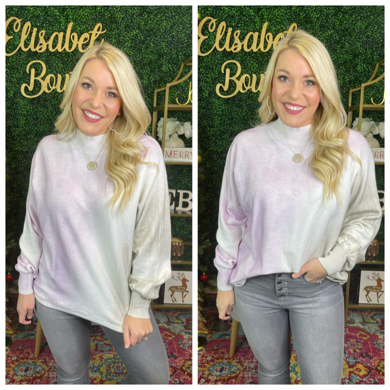 Above it all sweater top