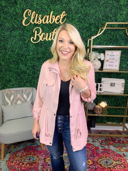 DEAL OF THE DAY- LAYERED LADY CARGO JACKET