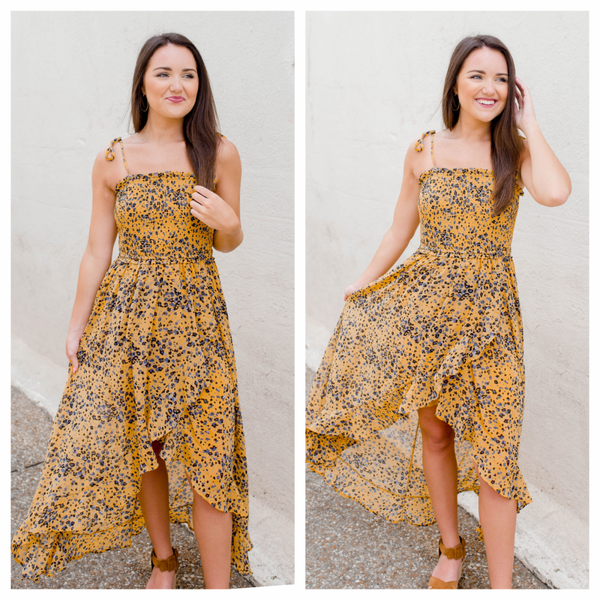 {IN STORE EXCLUSIVE - HI LOW SUNSHINE DRESS}