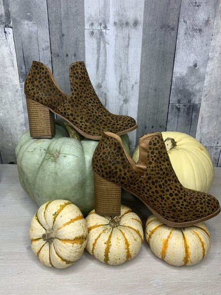 {THE PERFECT CHEETAH BOOTIES}