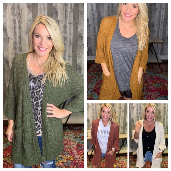 { NATURAL BEAUTY CARDI}