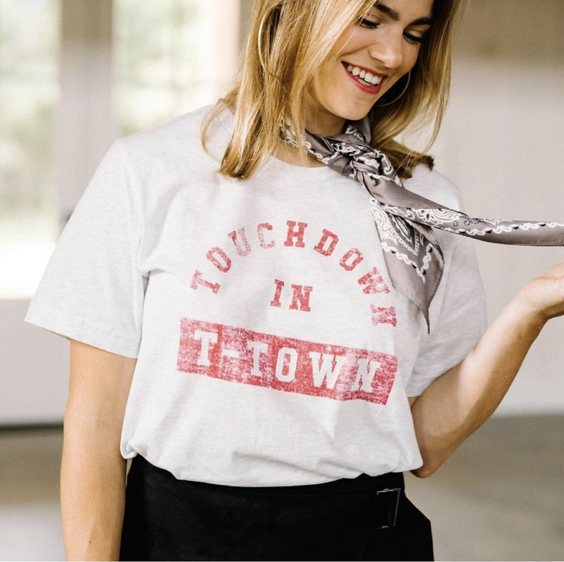 Game Day by Scarlet & Gold - Touchdown in T-Town Tee