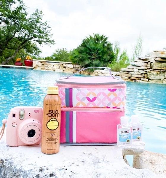 Pink lunch box by Jadelynn Brooks