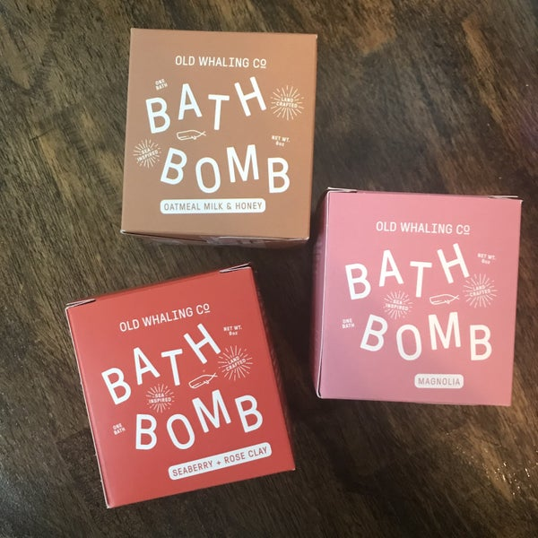 Old Whaling Co Bath Bomb