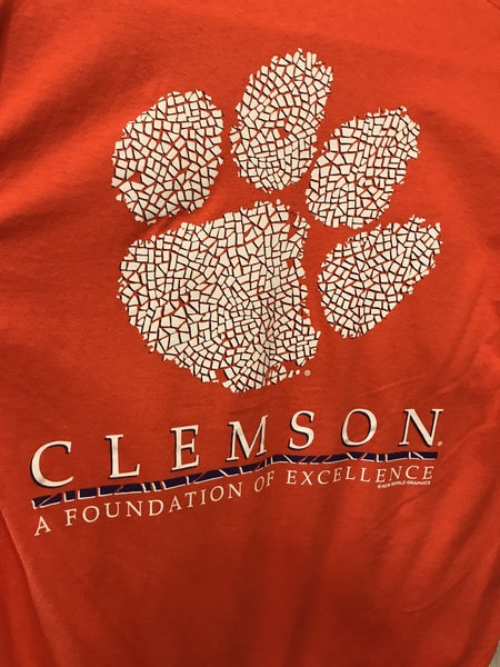 Clemson Mosaic short sleeve tshirt