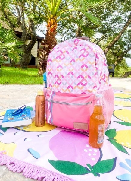 Jadelynn Brooks Pink bookbag