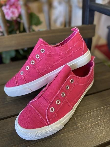 Corkys Babalu Pink slip on sneaker