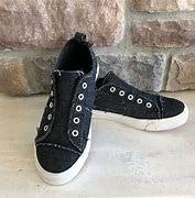 Corkys Babalu Black slip on sneaker