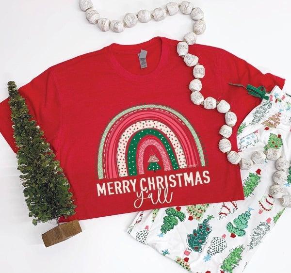 Merry Christmas Yall tshirt