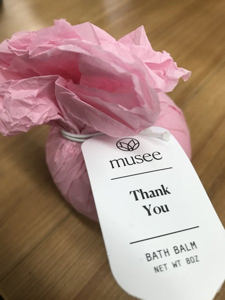 Musee Thank you bath bomb