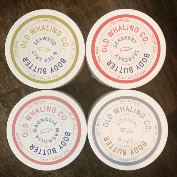 Old Whaling Co Body Butter travel size