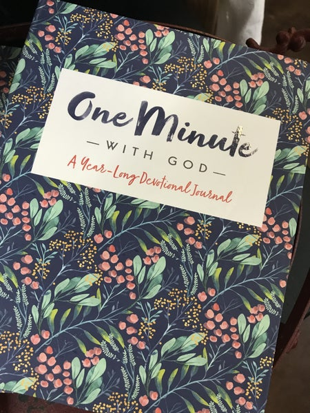 Year long devotional - Minute with God