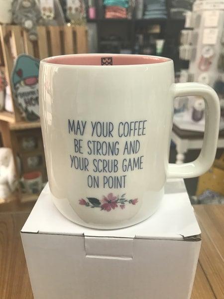 Scrub game nurse mug