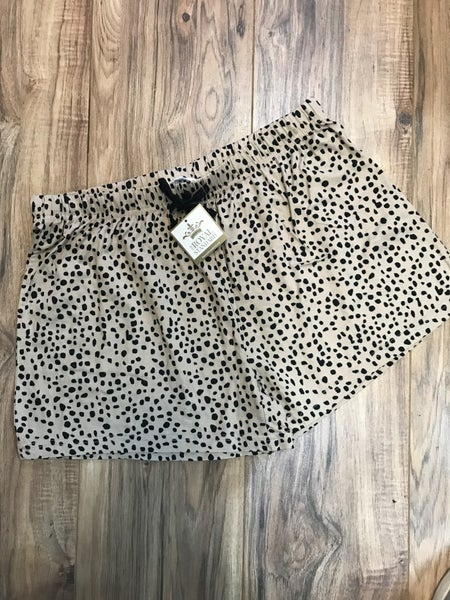 PS pajama shorts cheetah